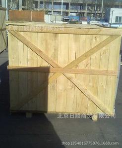 大量供应实木机械包装箱 免检实木包装箱 周转实木包装箱
